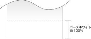 フォグラス(プリントグラデーション) ベースホワイトイメージ図